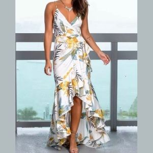 Floral Hi-Lo Dress from Saved by the Dress